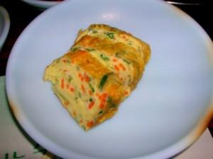 geyran mari (steamed rolled omelette)
