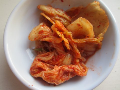 baechu kimchi [napa cabbage]