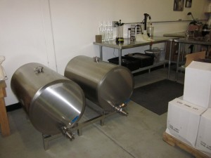 Meet Thing One and Thing Two, NSD's storage tanks, and Fillmore, the filling machine.